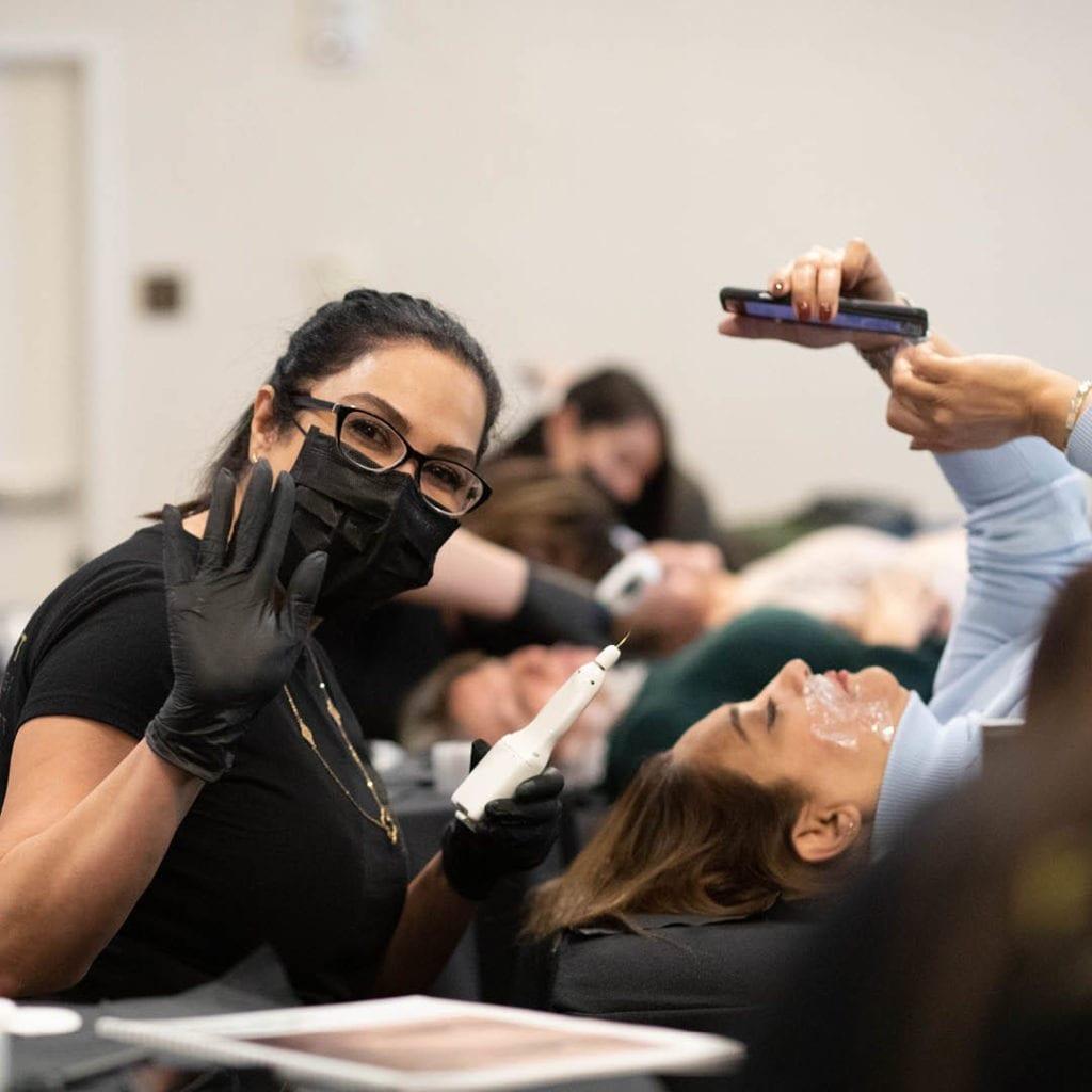 plasma pen training on model